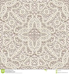 Old lace background, vintage seamless pattern.