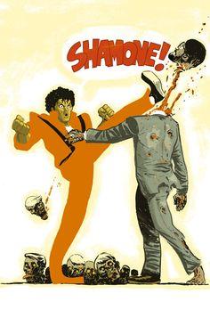 dan mcdaid Michael Jackson Zombie killer