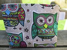 Reusable Snack/Sandwich Bag with Velcro Closure by McGarryDesigns, $6.50