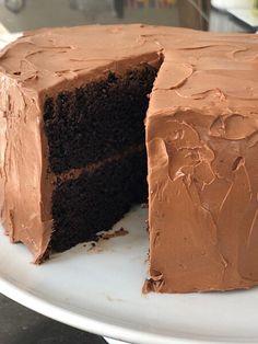 Barefoot Contessa | My Favorite Chocolate Cake Köstliche Desserts, Delicious Desserts, Dessert Recipes, Health Desserts, Food Cakes, Cupcake Cakes, Cupcakes, Beattys Chocolate Cake, Chocolate Buttercream