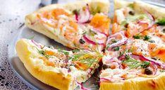 Pizza au saumon fuméVoir la recette >>
