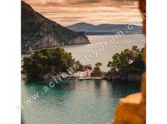 İZMİR ALİAĞA ŞAKRAN DA SATILIK denize yakın köy orman ve deniz manzarlı bahçeli içinde iki adet taş