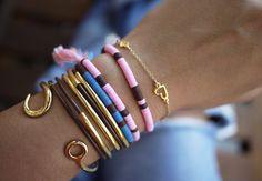 DIY Sequin Bracelet