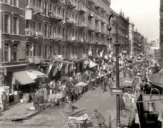 1909, the Lower East Side. Back then it was a ghetto, the section of the city for poor Eastern European Jews.