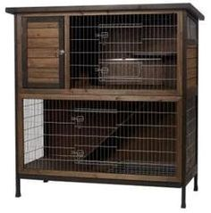 Super Pet Two Story Rabbit Hutch