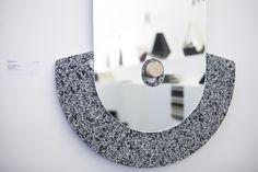 Caesarstone in collaboration with Design Space Gallery at the Fresh Paint Art Fair 2014  #caesarstone #quartz #design #material #art #productdesign #inspiration #mirror