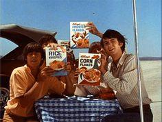 the kelloggs advertising #Monkees