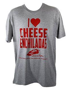 David A Romero I  lt 3 Cheese Enchiladas Unisex T-Shirt (Hea. 9c2edc713