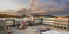 Testemunhas de Jeová terminam a fase mais intensa da construção da nova sede mundial