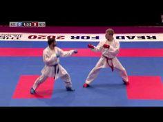 Rafael Aghayev vs René Smaal. Final Kumite Male -75kg. 48th European Karate Championships - YouTube
