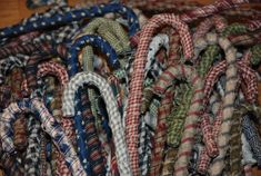 Homespun primitive candy canes take 2 pinterest candy canes fabric covered candy cane publicscrutiny Choice Image
