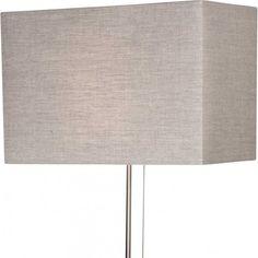Lampenkap K1008R, linnen grijs