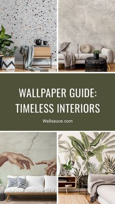 The fundamentals of timeless interiors begin with proven styles and that often means forgoing trends. When it comes to wallpaper, opt for colours that never age, patterns that remain relevant and designs that create balance in your home.Wallpapering is one of the easiest and most affordable makeovers. Timeless wallpaper designs can be a great way of setting the ambience for grown-up elegance and sophistication that will last. Find more inspiration from the Wallsauce blog! #wallpaper Blog Wallpaper, Wallpaper Designs, Designer Wallpaper, Wall Ideas, All Design, Things To Come, Age, Colours, Interiors