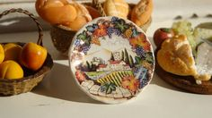 Hey, I found this really awesome Etsy listing at https://www.etsy.com/listing/129731645/italian-tuscan-landscape-plate-for