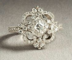 Antique wedding ring-- I frigging love this one