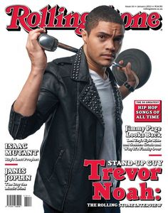 Trevor Noah .. Rolling Stone Magazine - In my opinion thee BEST South African comedian ever :)