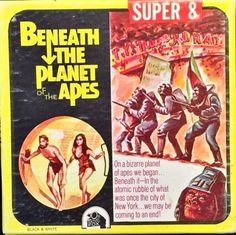 Everything about the mighty PLANET OF THE APES saga, from the original novel, via the classic films of the and right up to the 2011 reboot. Movies Box, Two Movies, Home Movies, I Movie, Movie Reels, Film Reels, Best Movie Posters, Planet Of The Apes, Classic Films
