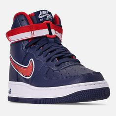 info for c3937 a9bf5 Boys' Big Kids' Nike Air Force 1 '07 High LV8 Sport Casual Shoes