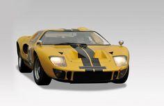 Adjugé 97 000 euros par Osenat à Fontainebleau le 14 juin 2015 : 1975 FORD GT40. Année : 1975.
