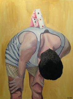 Humorous Paintings by Iñaki Otaola via iGNANT.de