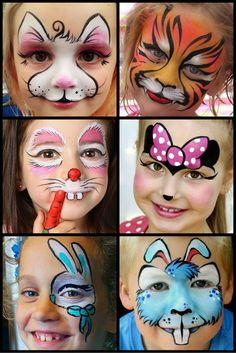brincadeira Superhero Face Painting, Girl Face Painting, Face Painting Halloween Kids, Painting For Kids, Body Painting, Face Paintings, Face Painting Tutorials, Face Painting Designs, Simple Face Paint Designs