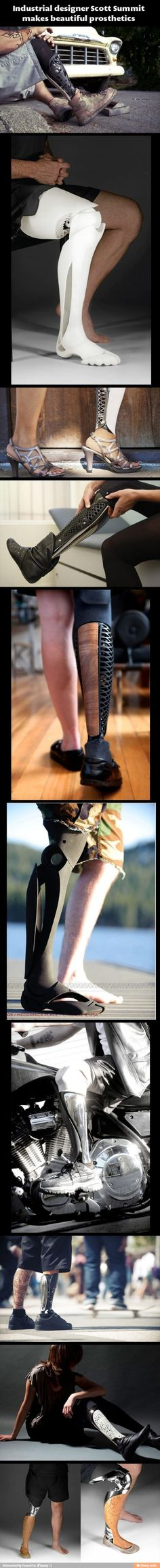 Awesome Industrial Designer! Changing the face of Prosthetics
