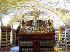 Lilienfeld Abbey Library, Lilienfeld, Austria.