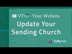 VT16 - Update your website's Sending Church information | Edify Hub