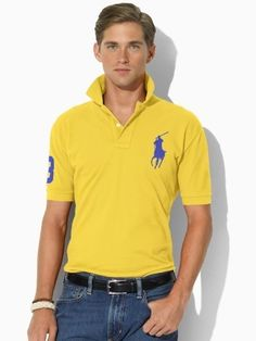 4f2bea6a091 Welcome to our Ralph Lauren Outlet online store. Ralph Lauren Mens Big Pony  Polo T Shirts on Sale. Find the best price on Ralph Lauren Polo.