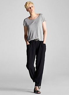 the cashmere tee #eileenfisher