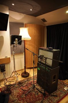 The Live Room in The Cabin Studio based in London