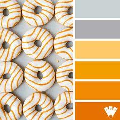 Donuts time | Journal des couleurs Palette, Donuts, Journal, Color, Frost Donuts, Beignets, Colour, Pallets, Colors
