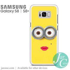 minion girl Phone Case for Samsung Galaxy S8 & S8 Plus