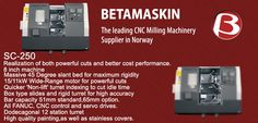 The leading CNC Milling #Machinery Supplier in #Norway..!