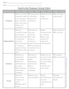 The Learning Lab: Constructed Response--Writing about Reading (Freebie)
