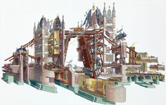 Stephen Biesty - Tower Bridge