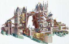 Stephen Biesty - Tower Bridge