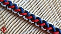 How To Make the Divided Solomon Paracord Bracelet Tutorial