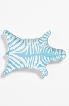 Add a little spice to a dining room table with this dish. Jonathan Adler 'Zebra' Porcelain Stacking Dish at Nordstrom.