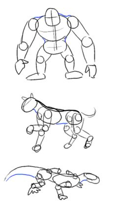 tutorial figure drawing basic pose and construction