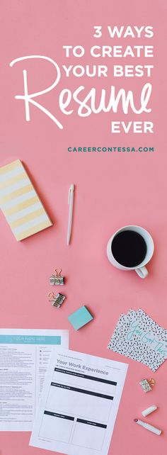 """The average recruiter spends less than 10 seconds reviewing a resume. That means you have one goal: to make your resume stand out and showcase your value right away. Most of the resume advice out there is all over the place—one """"resume expert"""" will tell you one thing, another the opposite. That's why we want to give you three strategies you can use to improve your resume today. Nothing confusing— just straightforward resume advice. 