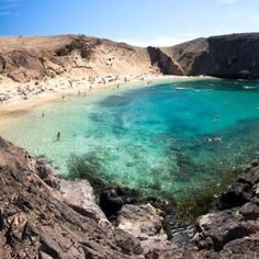 Playa del Papagayo, Lanzarote - was known and accessible only by the locals for years