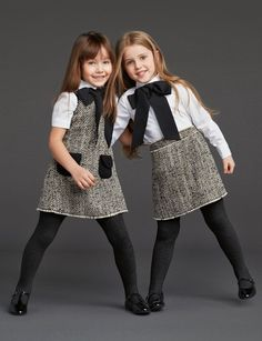 Baby clothes winter dolce & gabbana 15 Ideas for 2019 Outfits Niños, Baby Outfits, Kids Outfits, Tween Fashion, Toddler Fashion, Fashion 2015, Style Fashion, Little Girl Outfits, Little Girl Fashion