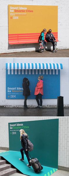 Awesome marketing! Obviously I'm a marketing major nerd. Ads with a purpose - IBM