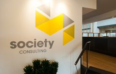 Society Consulting Logo Wall
