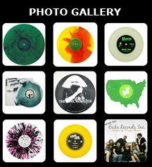 Custom made Vinyl Records - Erika Records :: Vinyl Record Manufacturer :: Keeping Vinyl Alive! http://www.erikarecords.com/