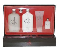 13% Off was $69.00, now is $59.99! Ck One Cologne by Calvin Klein for Men. 4 Pc. Gift Set