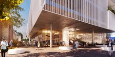Tercer lugar concurso de diseño Centro Cultural Pedro de Osma en Lima,Cortesía de Gómez Platero Arquitectos