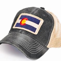 e1b4262ffe7dc Colorado trucker hats are finally back in stock... our most popular color