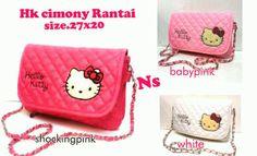 Hello Kitty Bag IDR 90000   #hellokitty #jualan #tas #bag